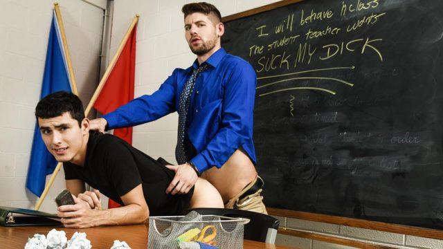 Punition sévère pour un élève fauteur de trouble – Connor Halstead & Xavier Ryan