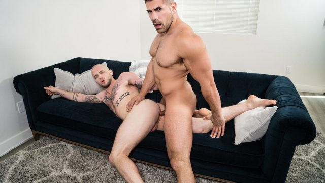 Sex-Crazed Men Partie 1 – Damien Stone & Colton Grey – Bareback