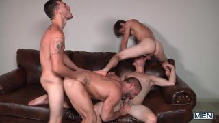 Stepfather's Secret Part 8 –  – JO – Jizz Orgy